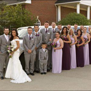 Abbey & Cooper's wedding day